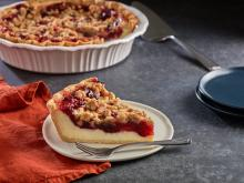 Wewalka - Cranberry Cheese Crumb Pie