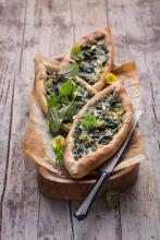 Wewalka - Spinach Pide with Herbs