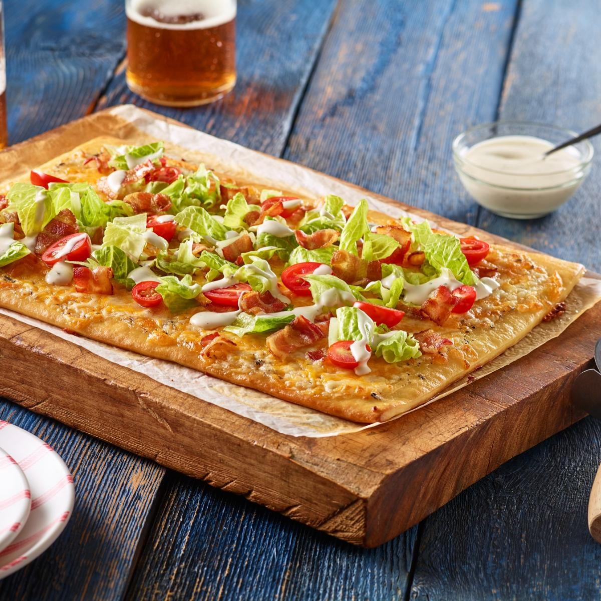 Wewalka Recipe - BLT Pizza