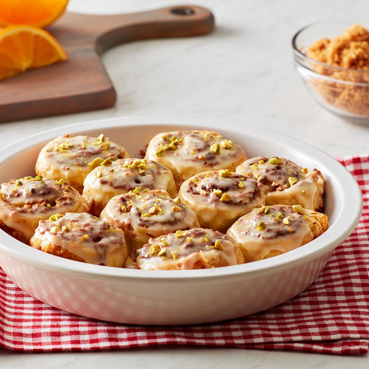 Wewalka Recipe - Crunchy Cinnamon Rolls