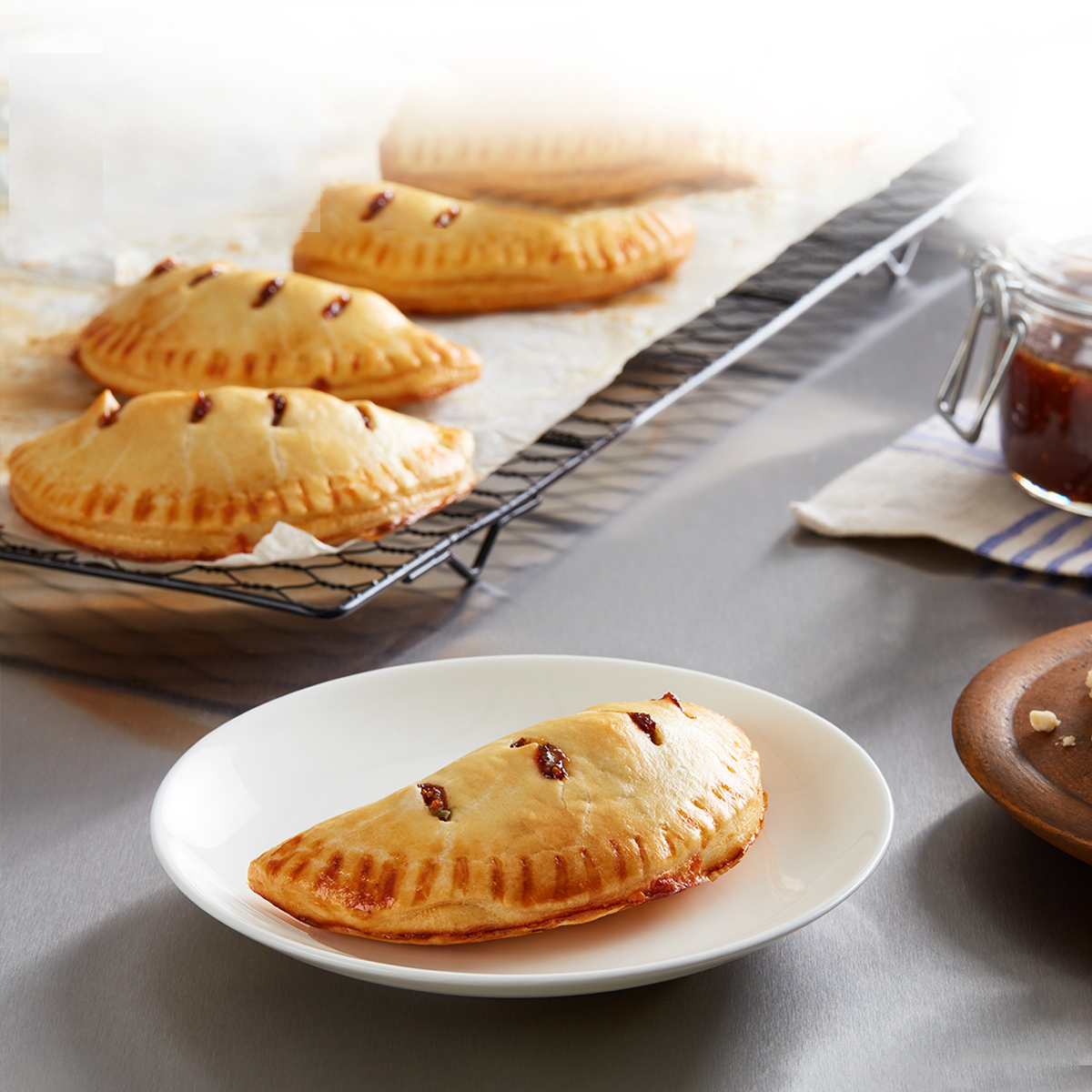 Wewalka Recipe - Fig Jam Hand Pies