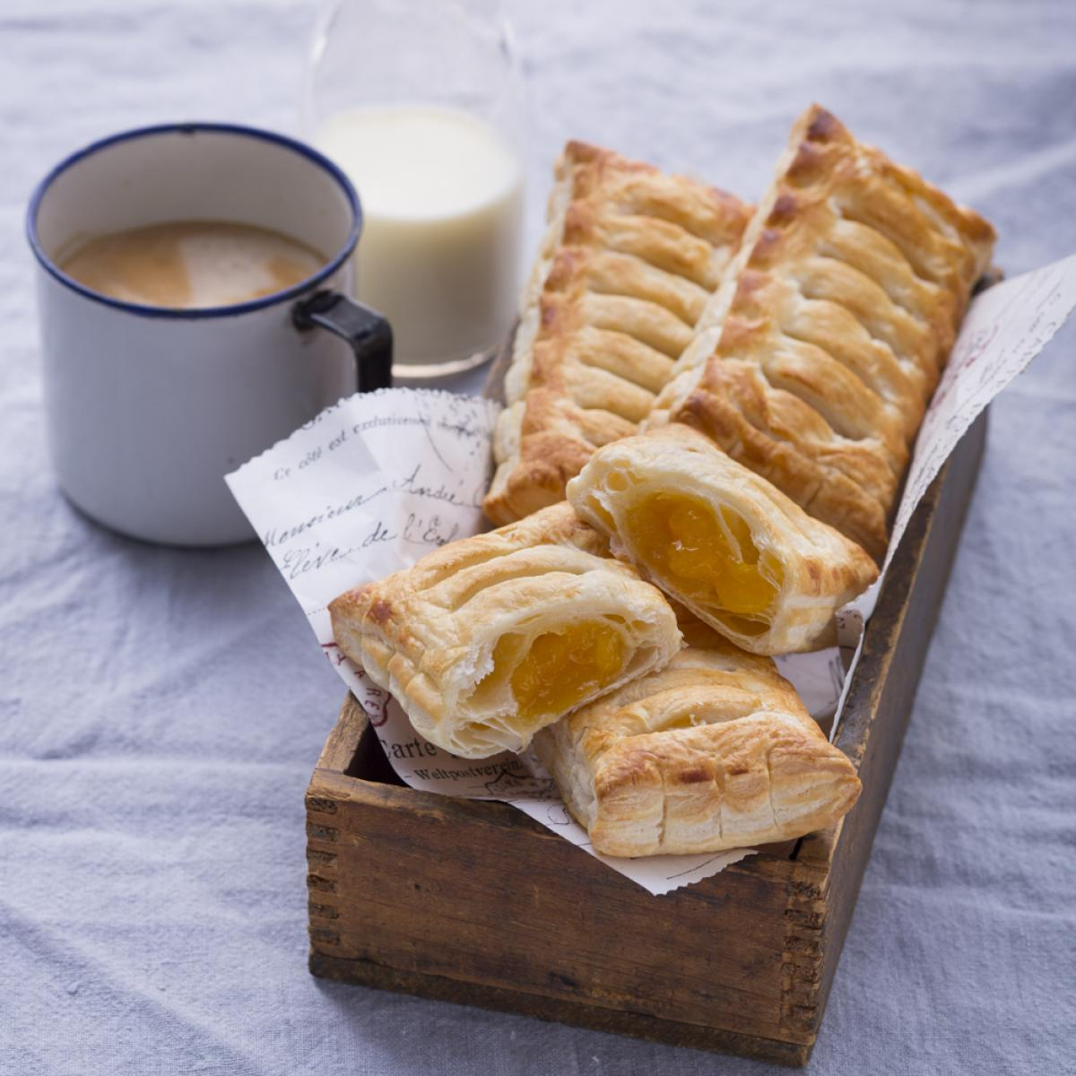Wewalka Recipe - Mango Puff Pastry Pockets