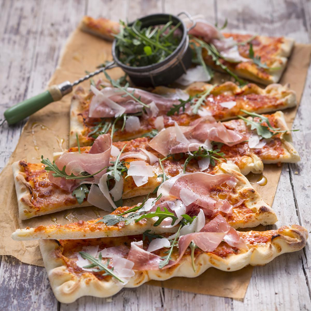 Wewalka Recipe - Arugula Pan Pizza