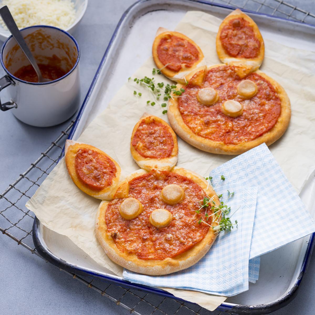 Wewalka Recipe - Pizza Bunnies