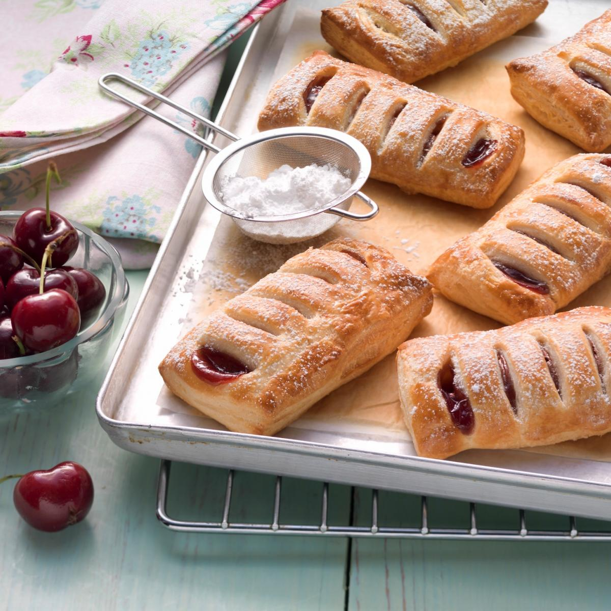 Wewalka Recipe - Cherry Pockets