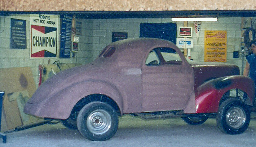 1941 Willys Coup