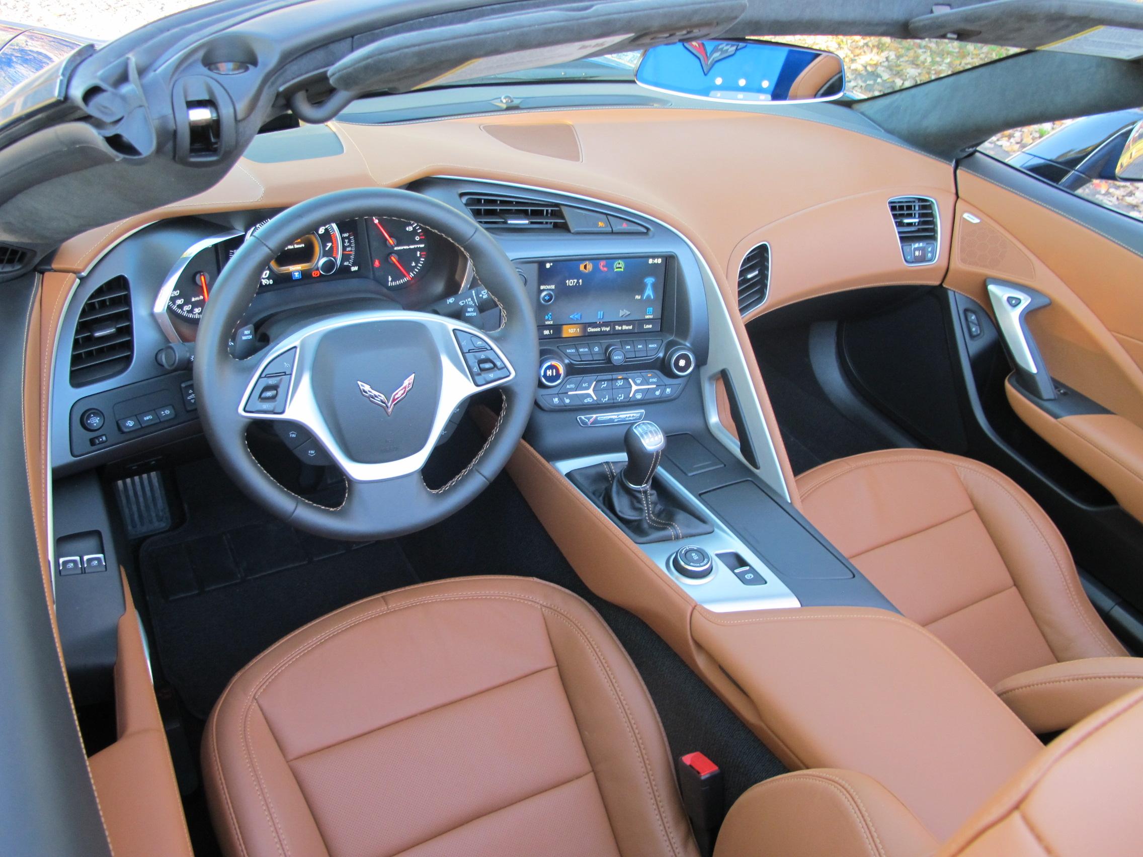 2015 Corvette Stingray Interior