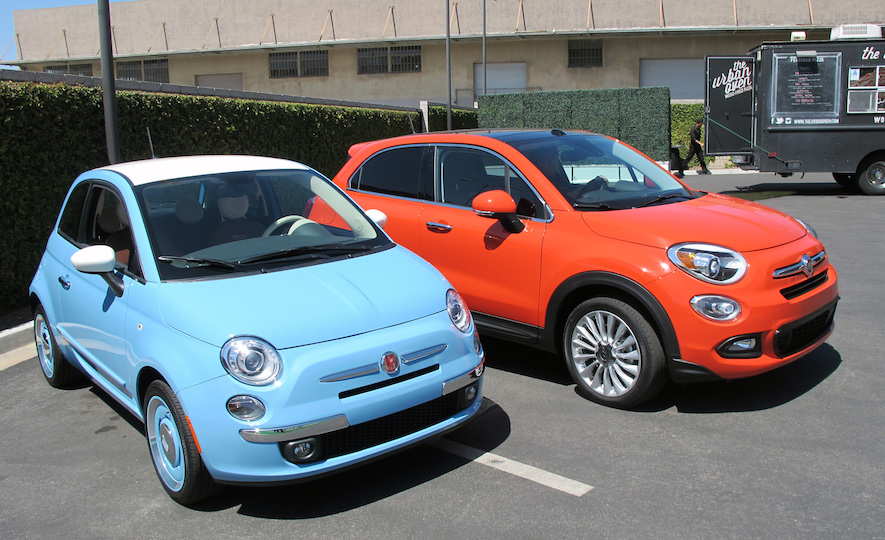 2016 Fiat 500X coupe and hatchback