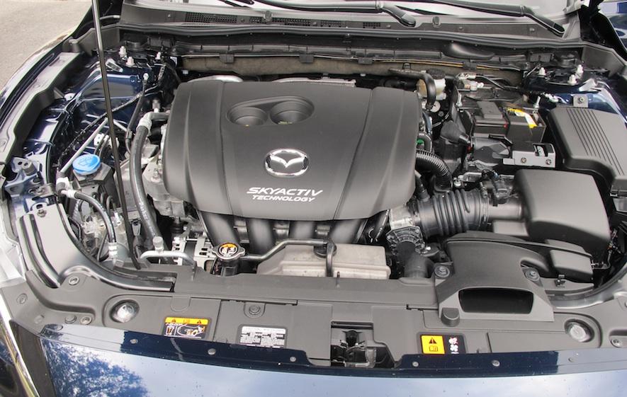 2016 Mazda 6 engine