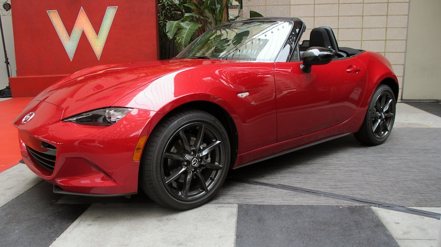 2016 Mazda MX-5 revieled