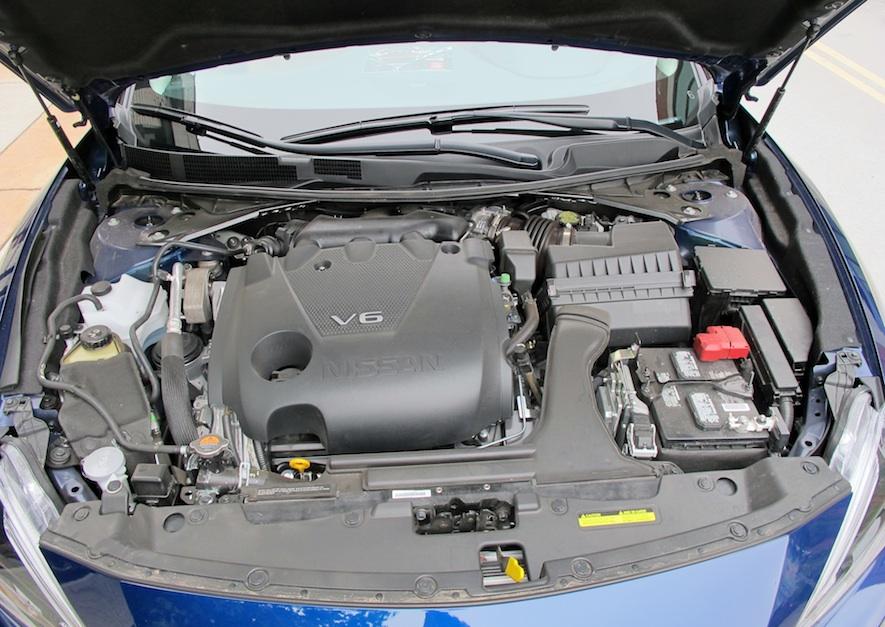 2016 Nissan Maxima engine