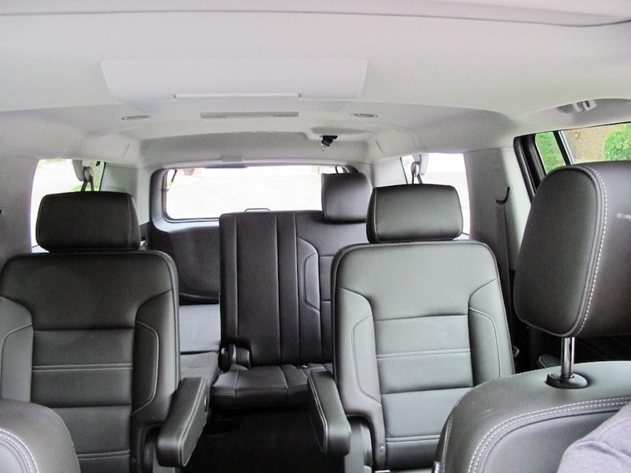 2015 GMC Yukon Denali XL seating