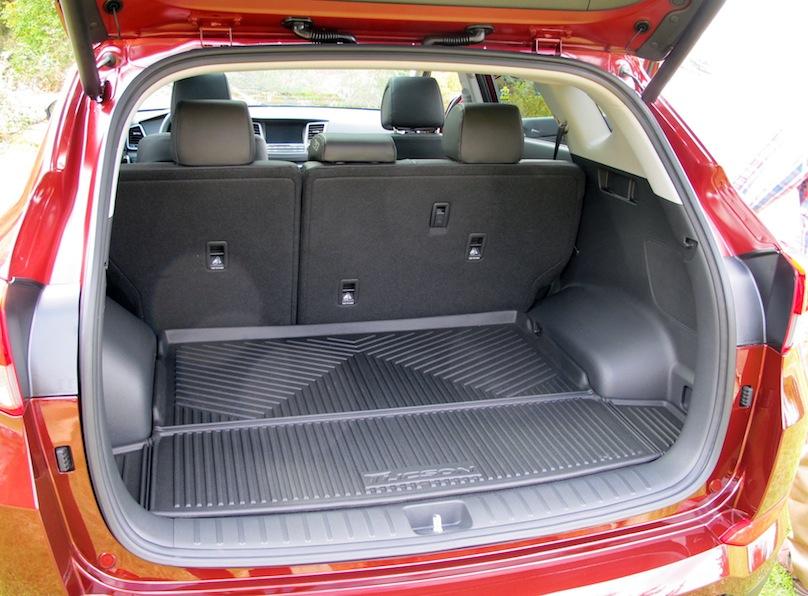 2016 Hyundai Tucson cargo