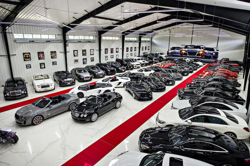Ultra Luxury Man Cave Houses One Man S Multi Million Dollar Car