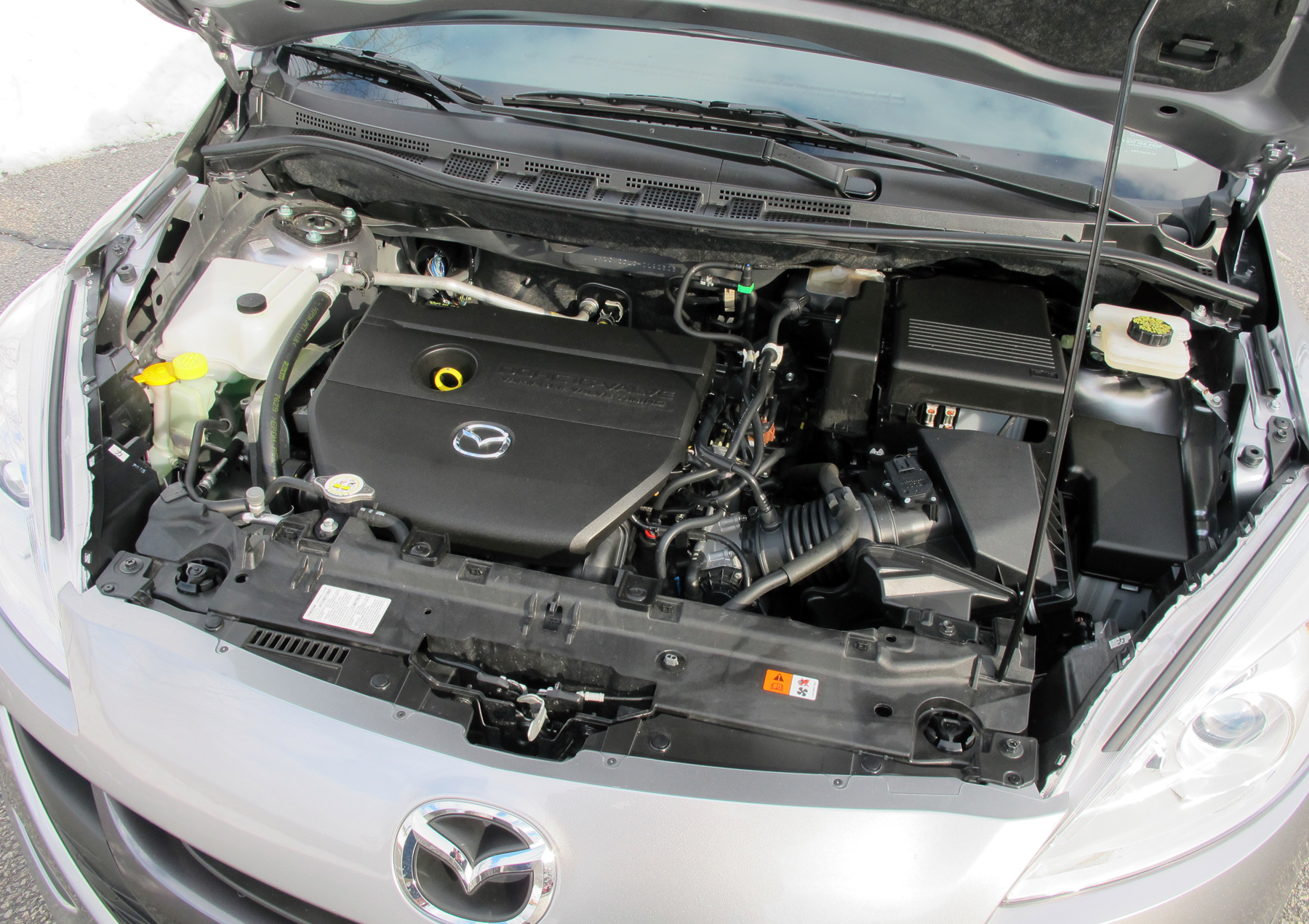 Mazda5 Offers Solid Alternative To Crossovers 2001 Mazda Mpv Engine Diagram