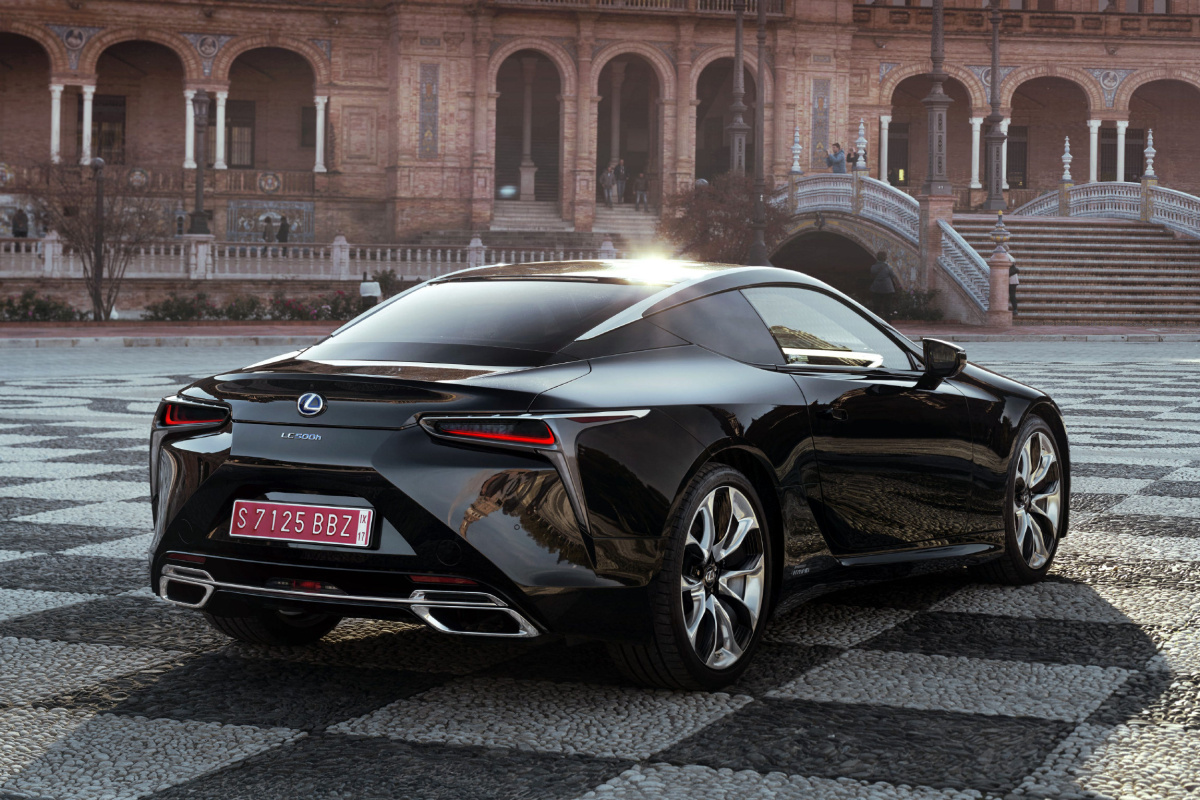 Lexus LC Coupe in Sevilla Spain