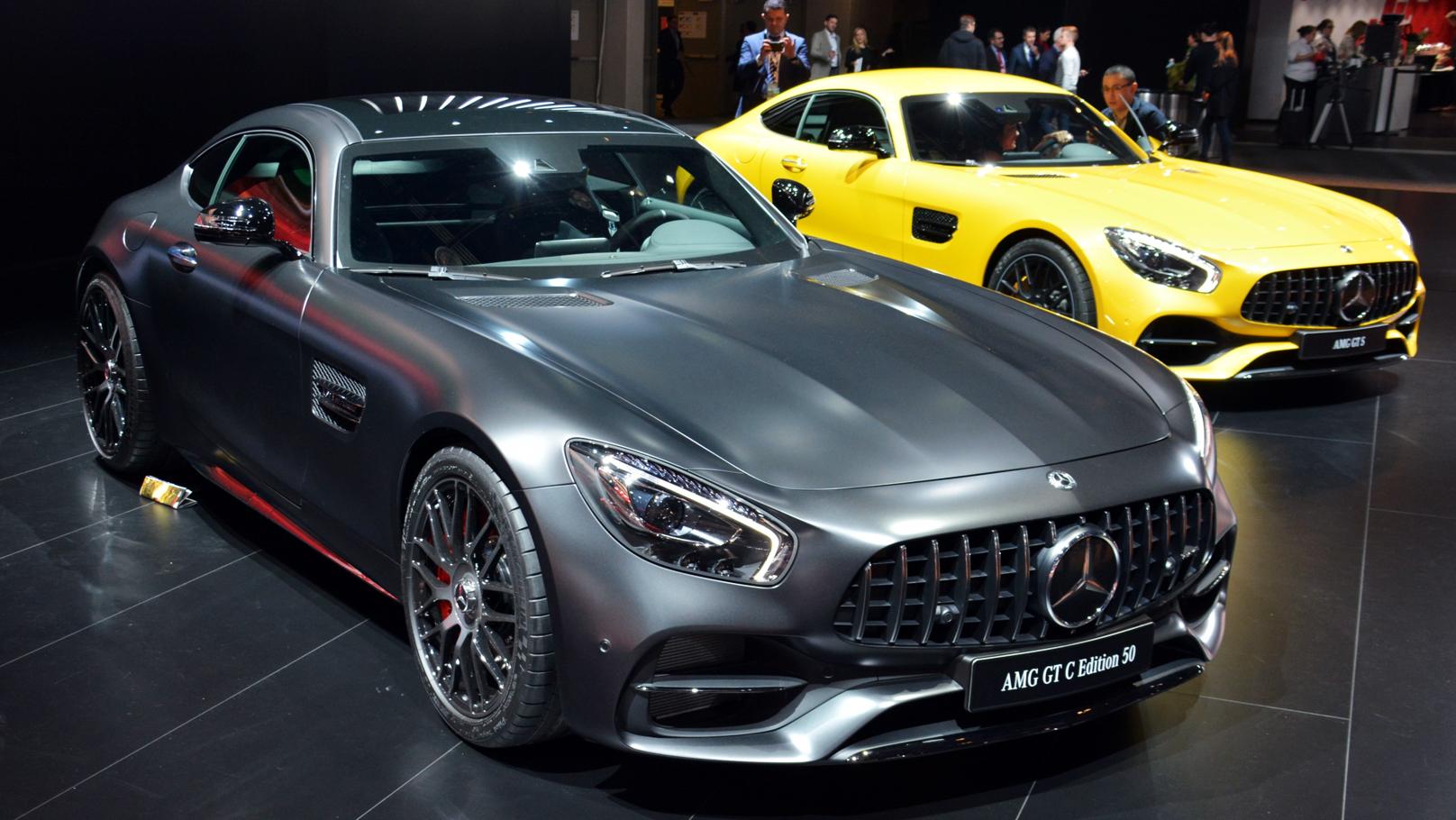 AMG GT-C Detroit auto show