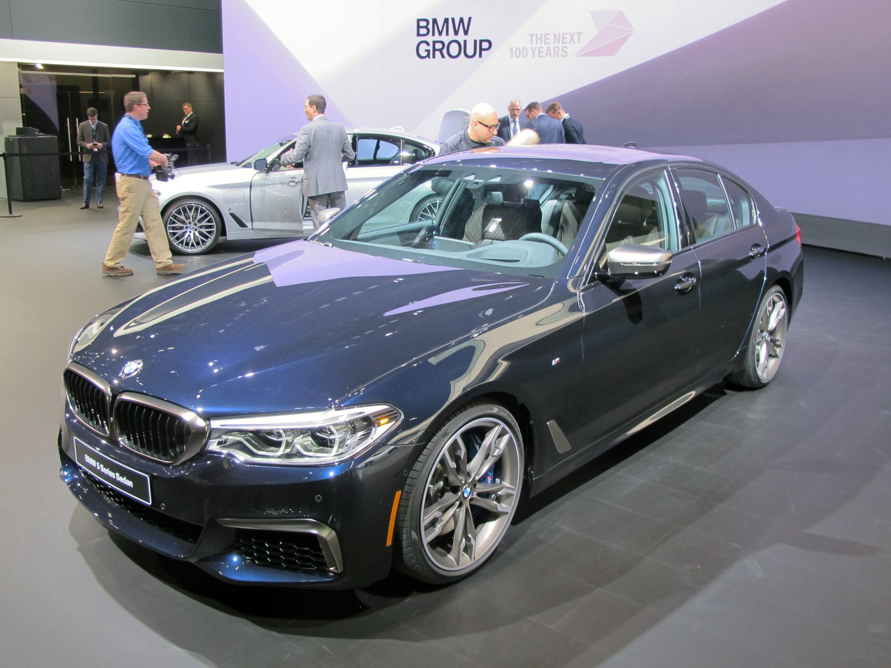 New vehicle reveal BMW 5 Series
