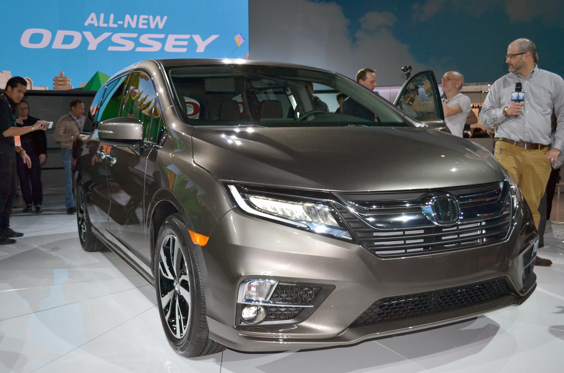 New vehicle reveal Honda Odyssey