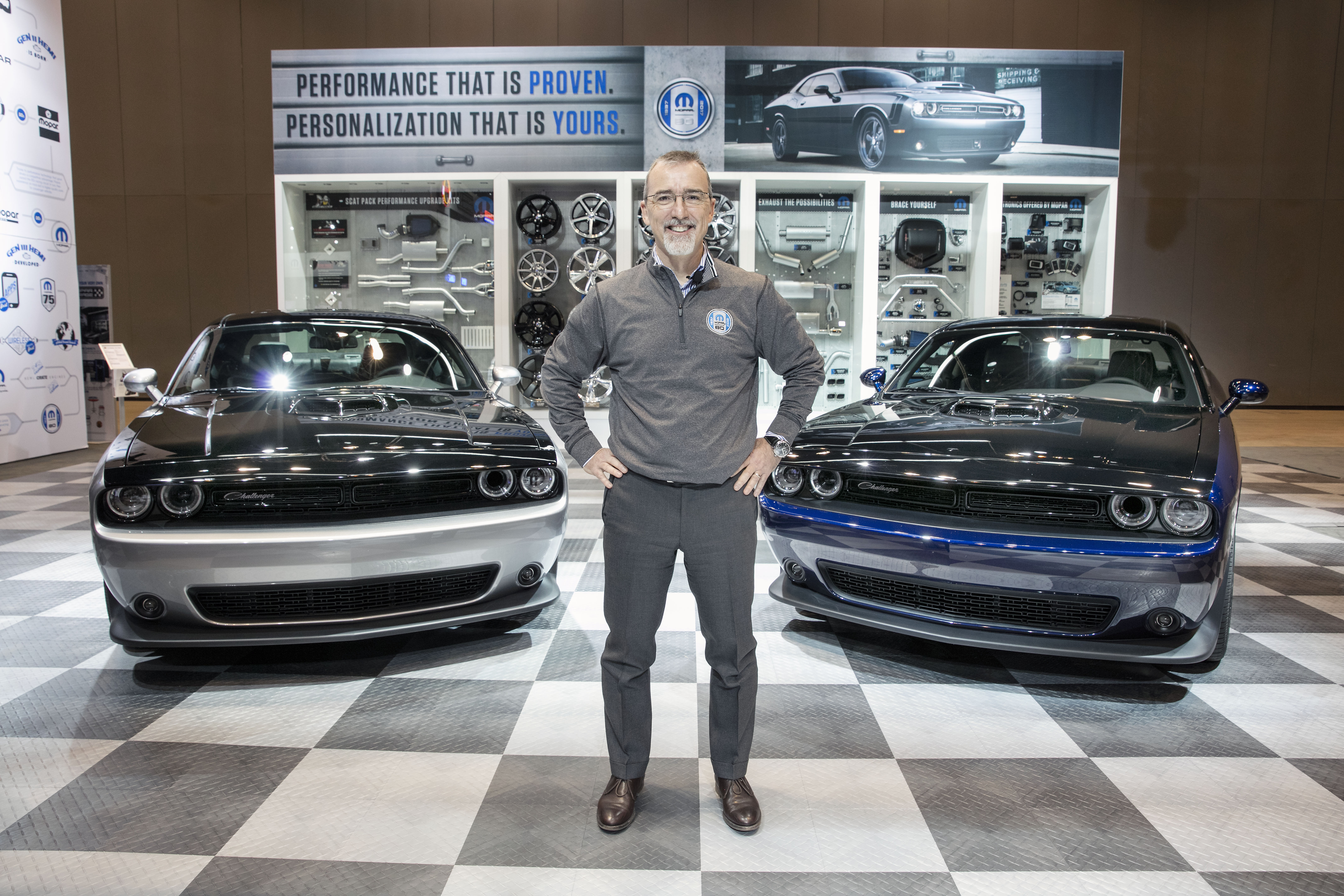 Dodge Unveils Mopar Custom Shop Challenger Wheels Ca