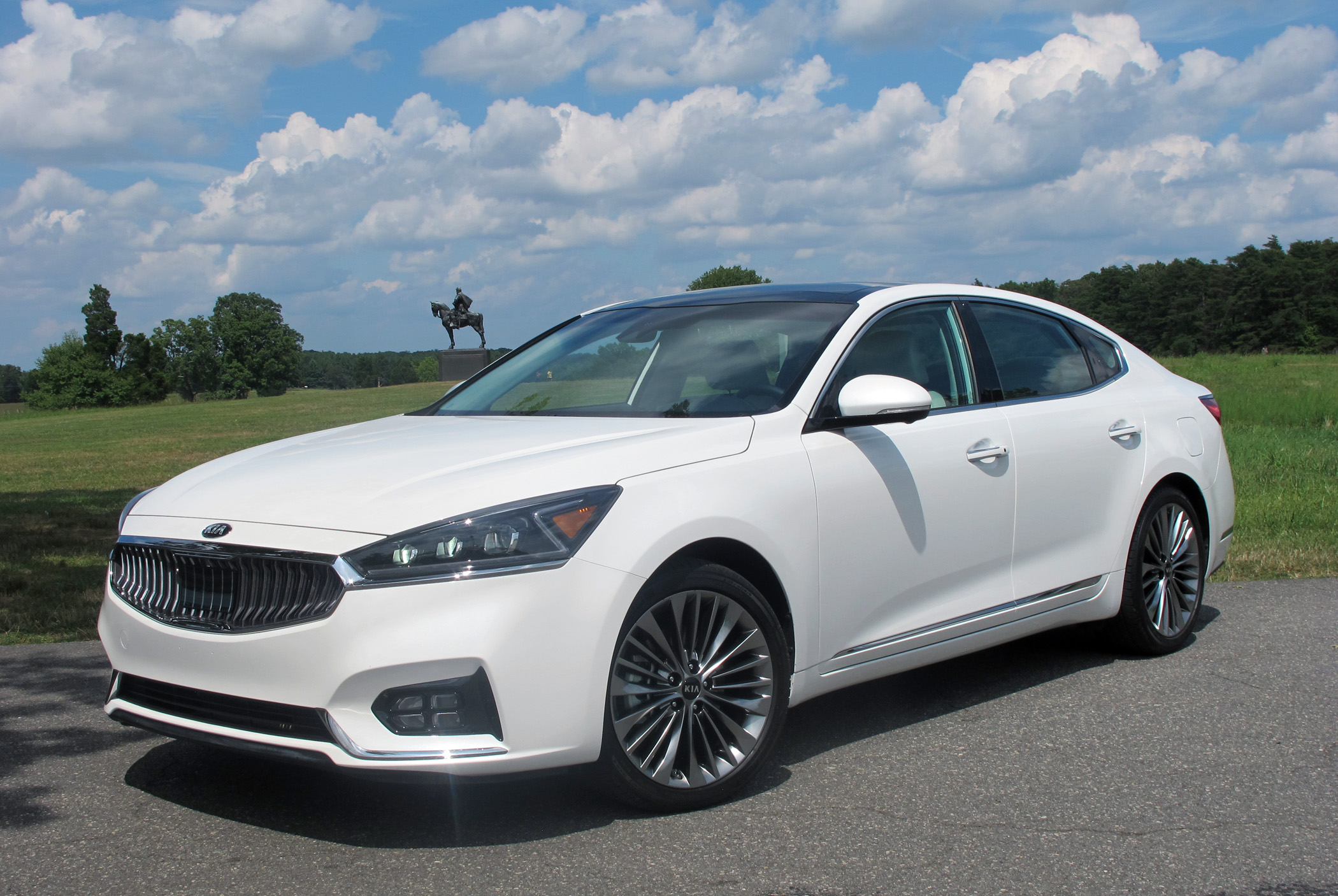 New vehicle reveal Kia Cadenza