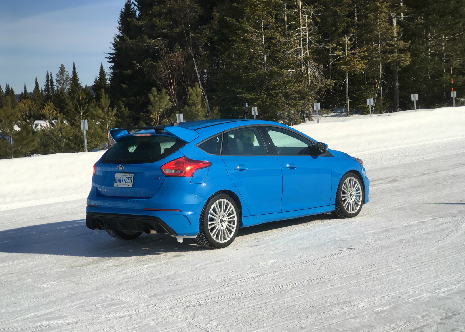 Ford Focus RS Winter Ice