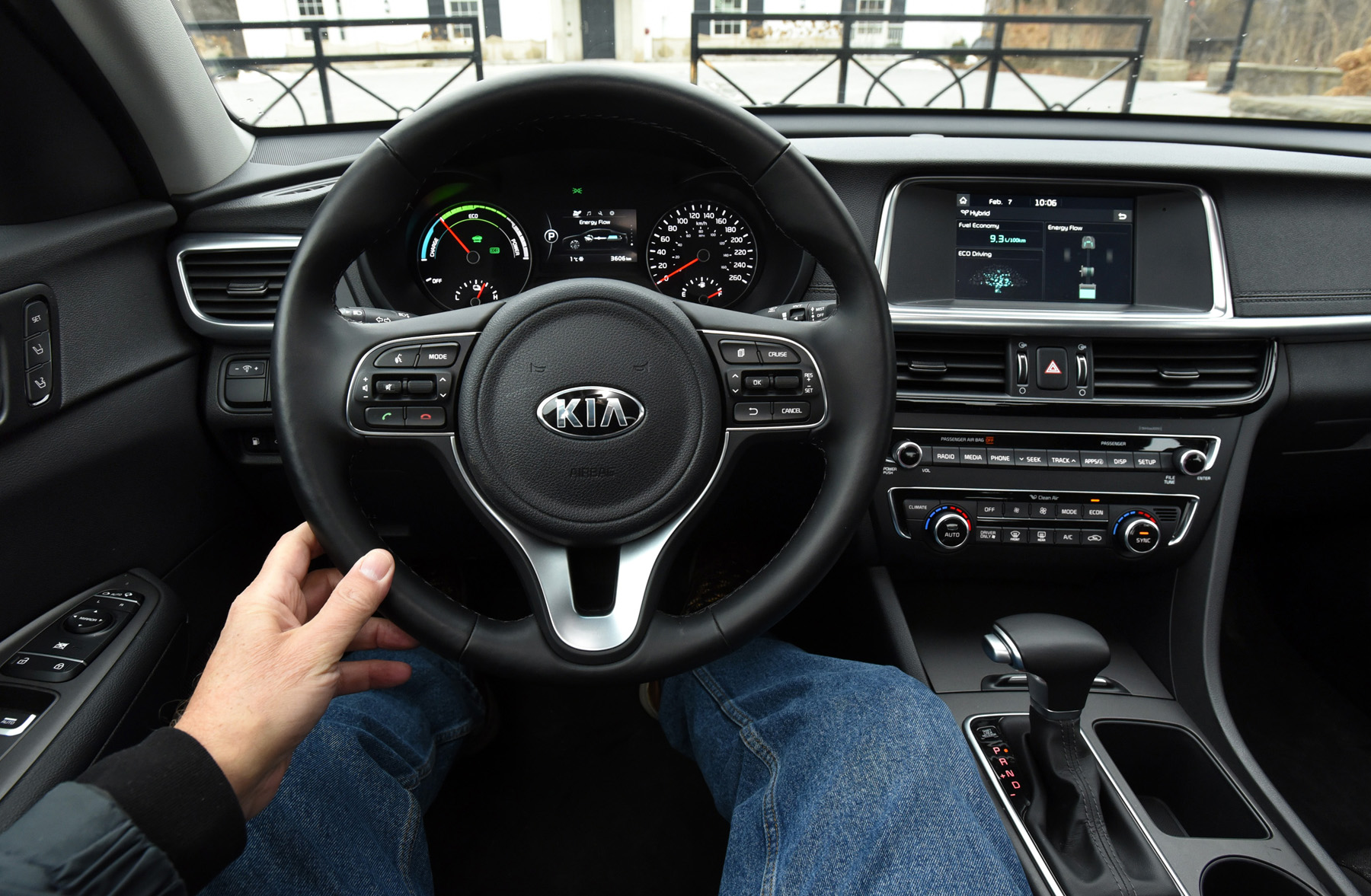 2017 Kia Optima Hybrid Interior | www.indiepedia.org