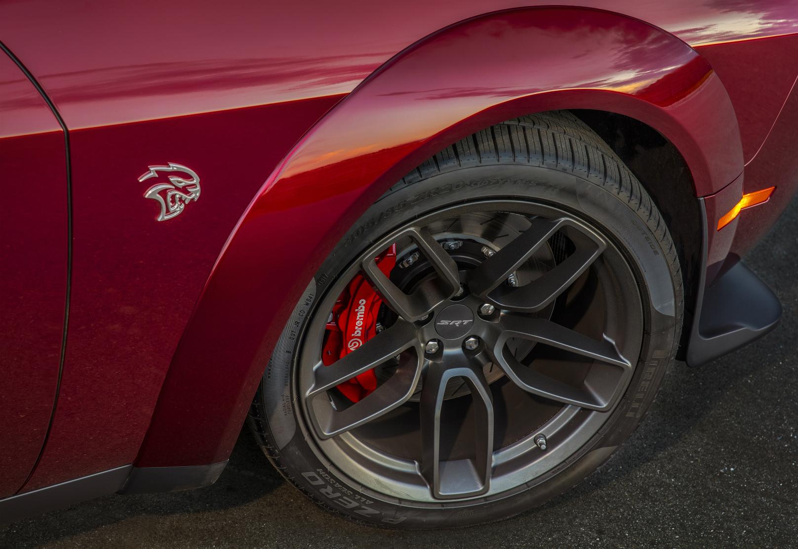 Widebody Comes To Dodge Challenger Hellcat Wheels Ca