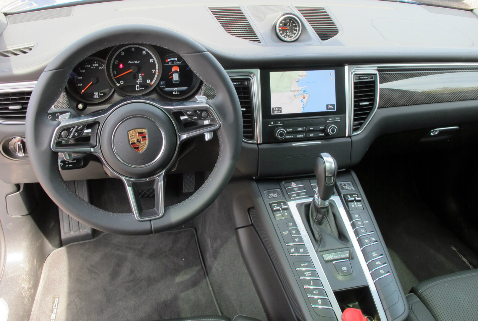 Compact Macan Turbo Punches Way Above Its Weight Wheels Ca