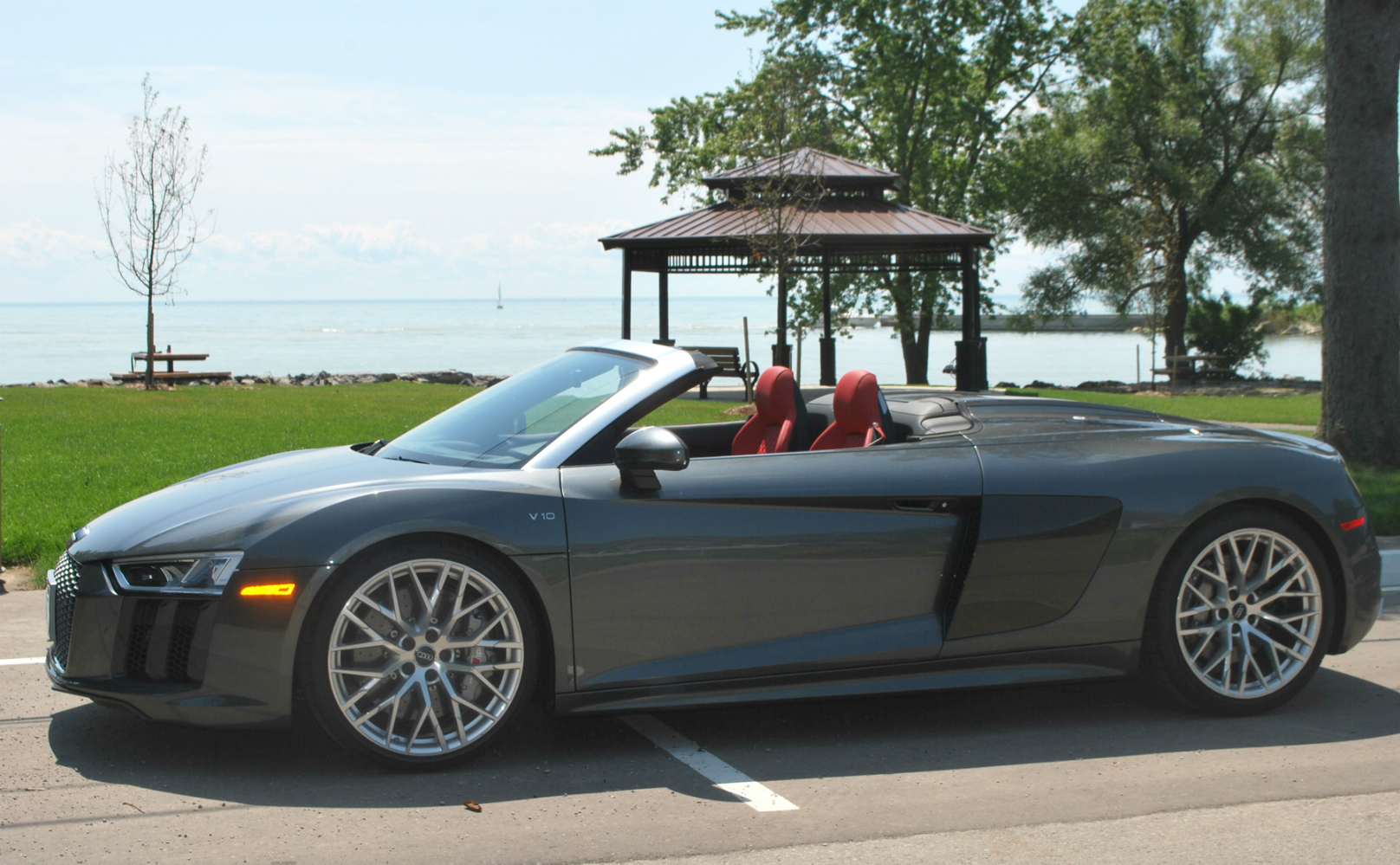 Audi R8 Spyder Satisfies The Eyes And Ears Wheels Ca