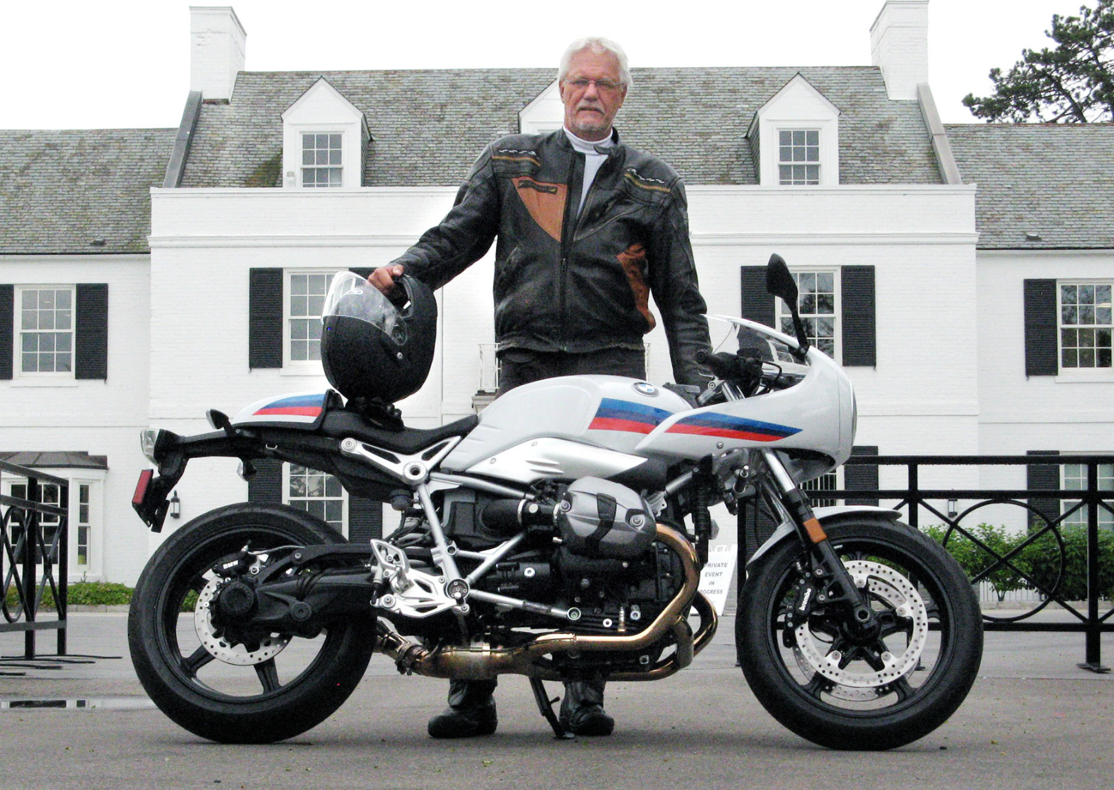 BMW R nine T Racer Review