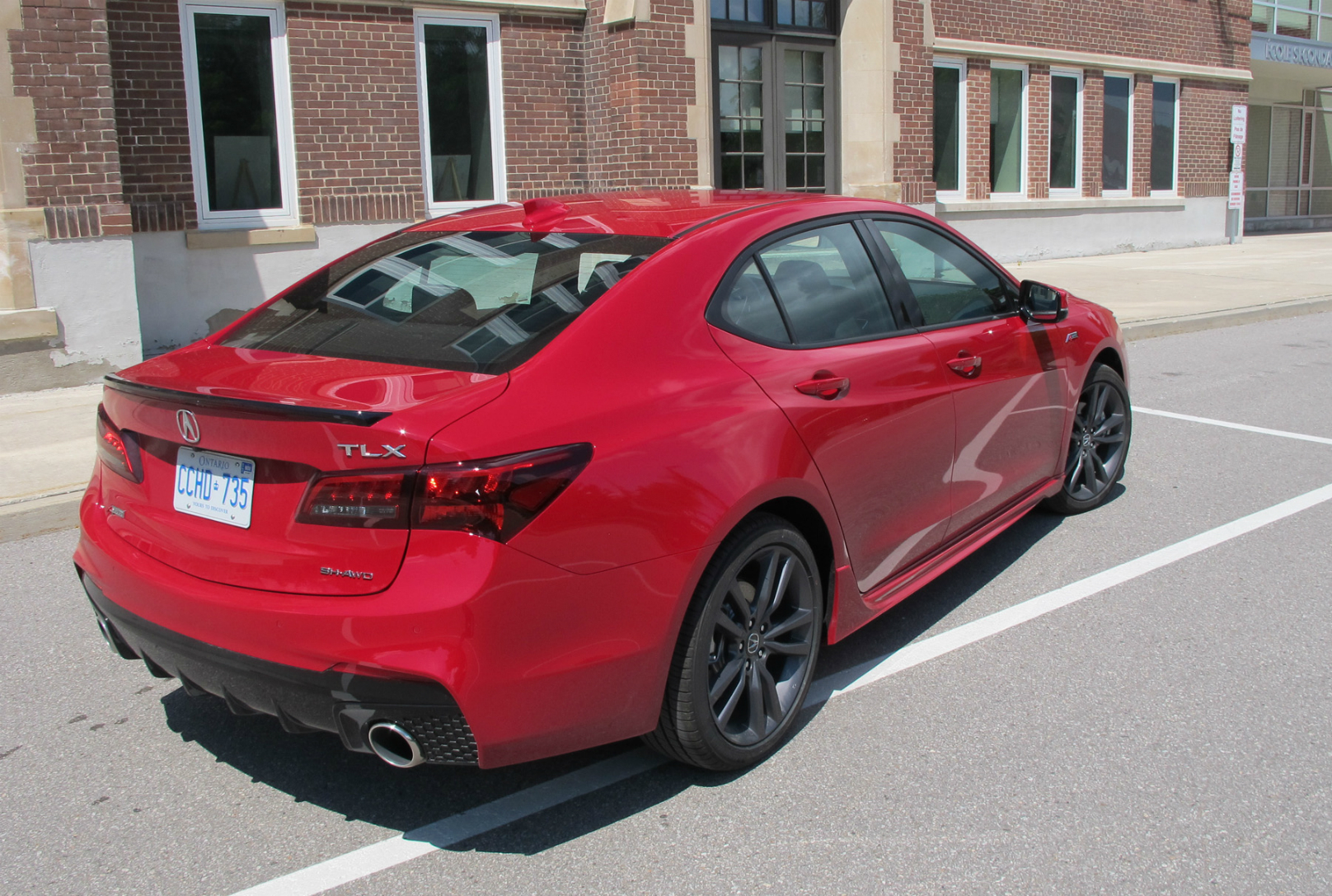 Acura TLX A-Spec review