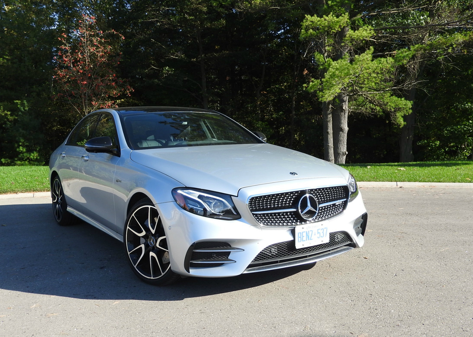 Less Is Quite Enough In The Amg E43 4matic Wheels Ca