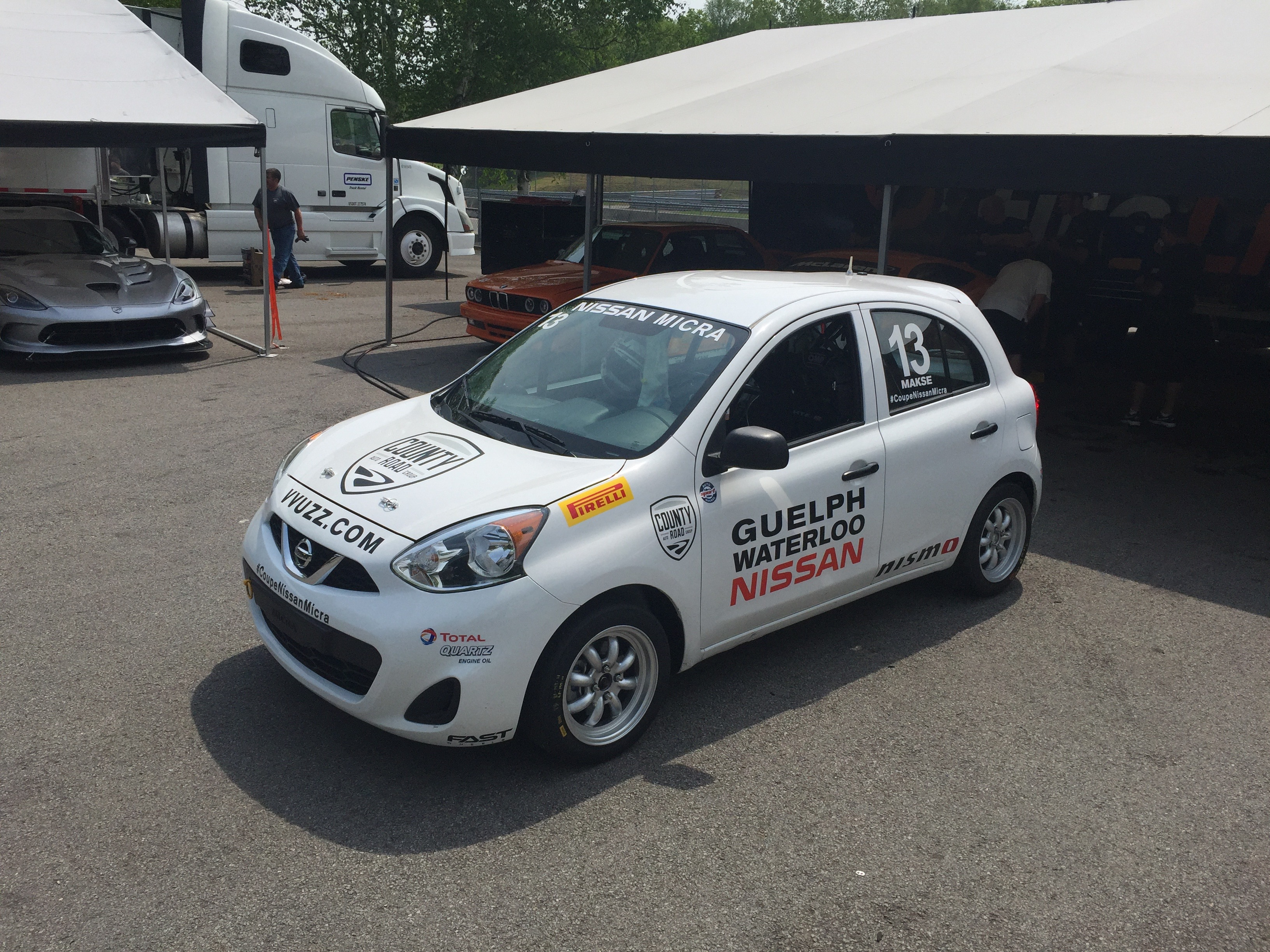 nissan micra cup 13