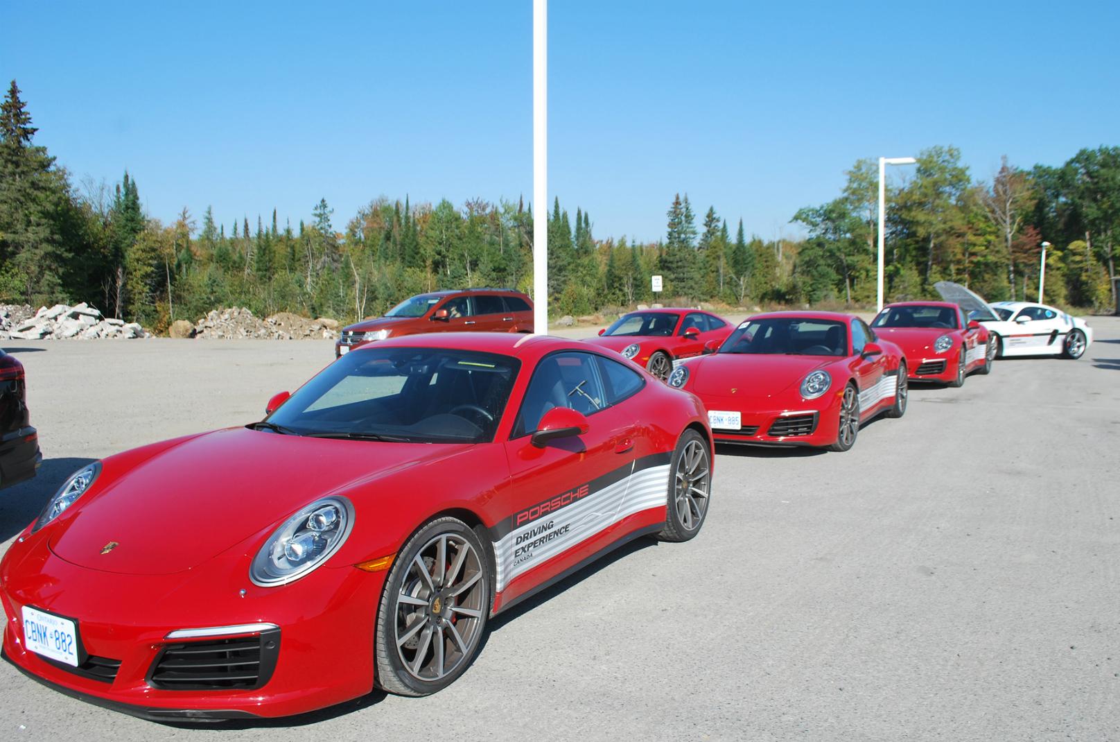Porsche Canada 150 tour