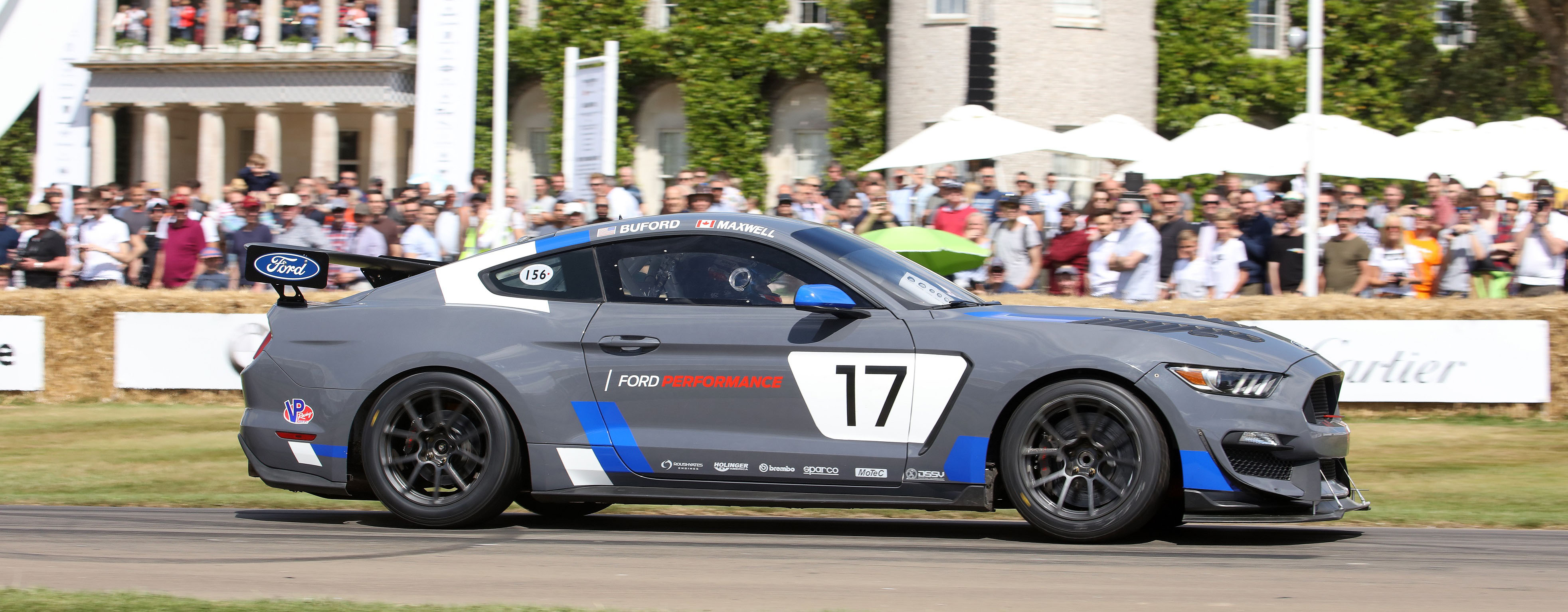 Ford Mustang Gt4 Makes European Racing Debut With Canadian