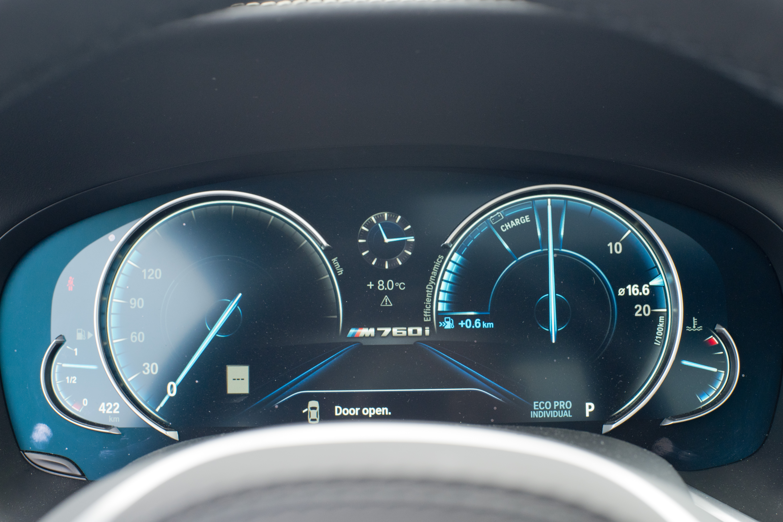 2018 M760Li xDrive eco pro mode