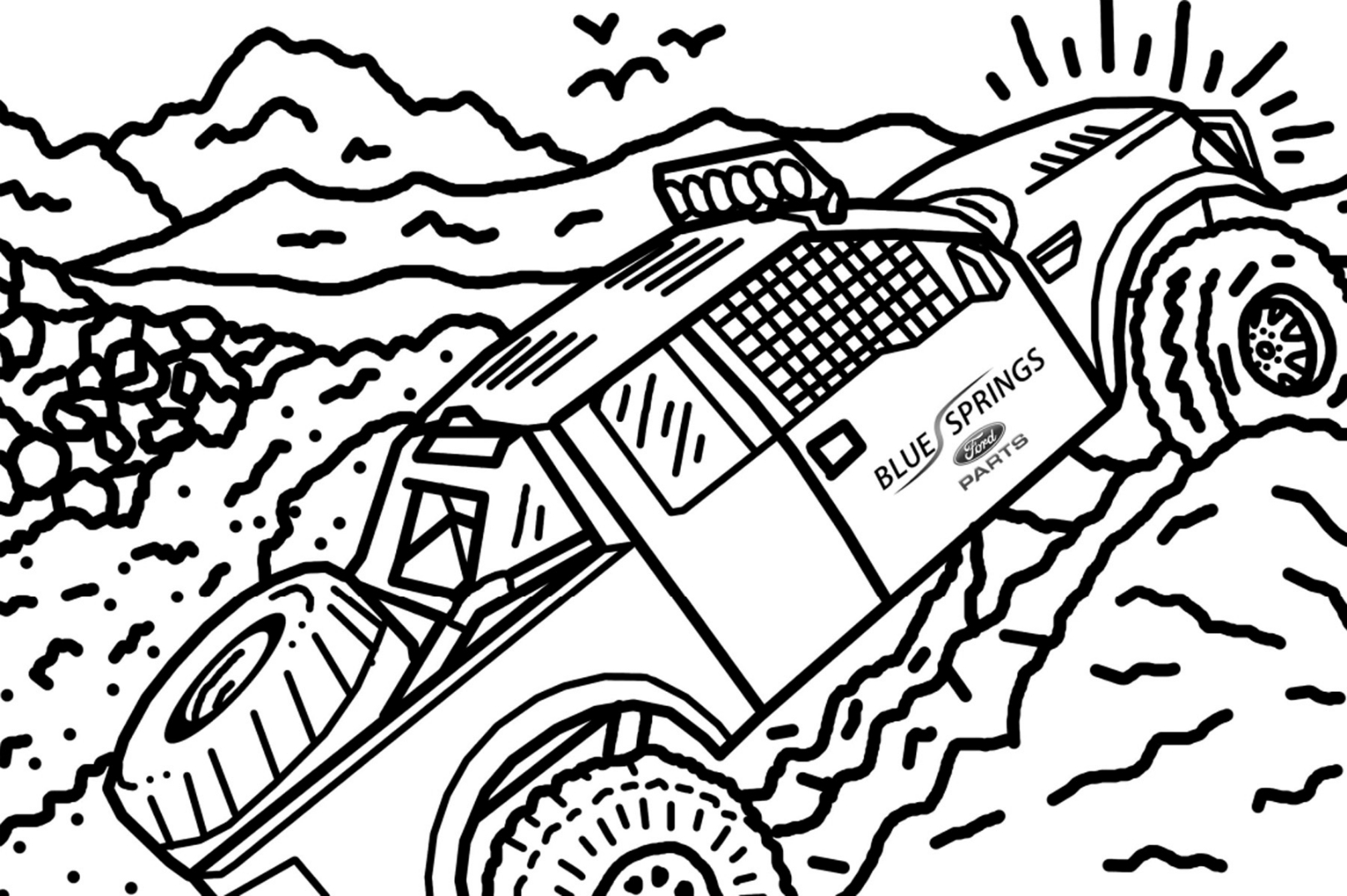 Ford Posts Free Online Raptor Colouring Book – WHEELS.ca