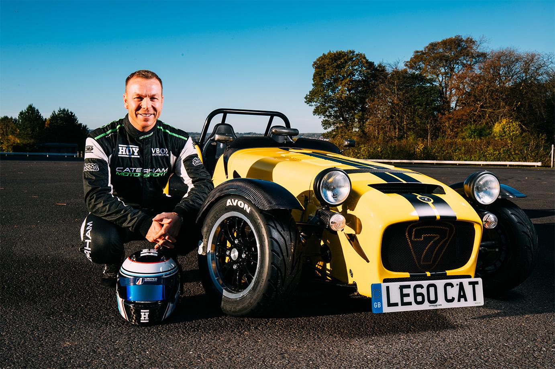 TrackWorthy - Sir Chris Hoy with Caterham 620R