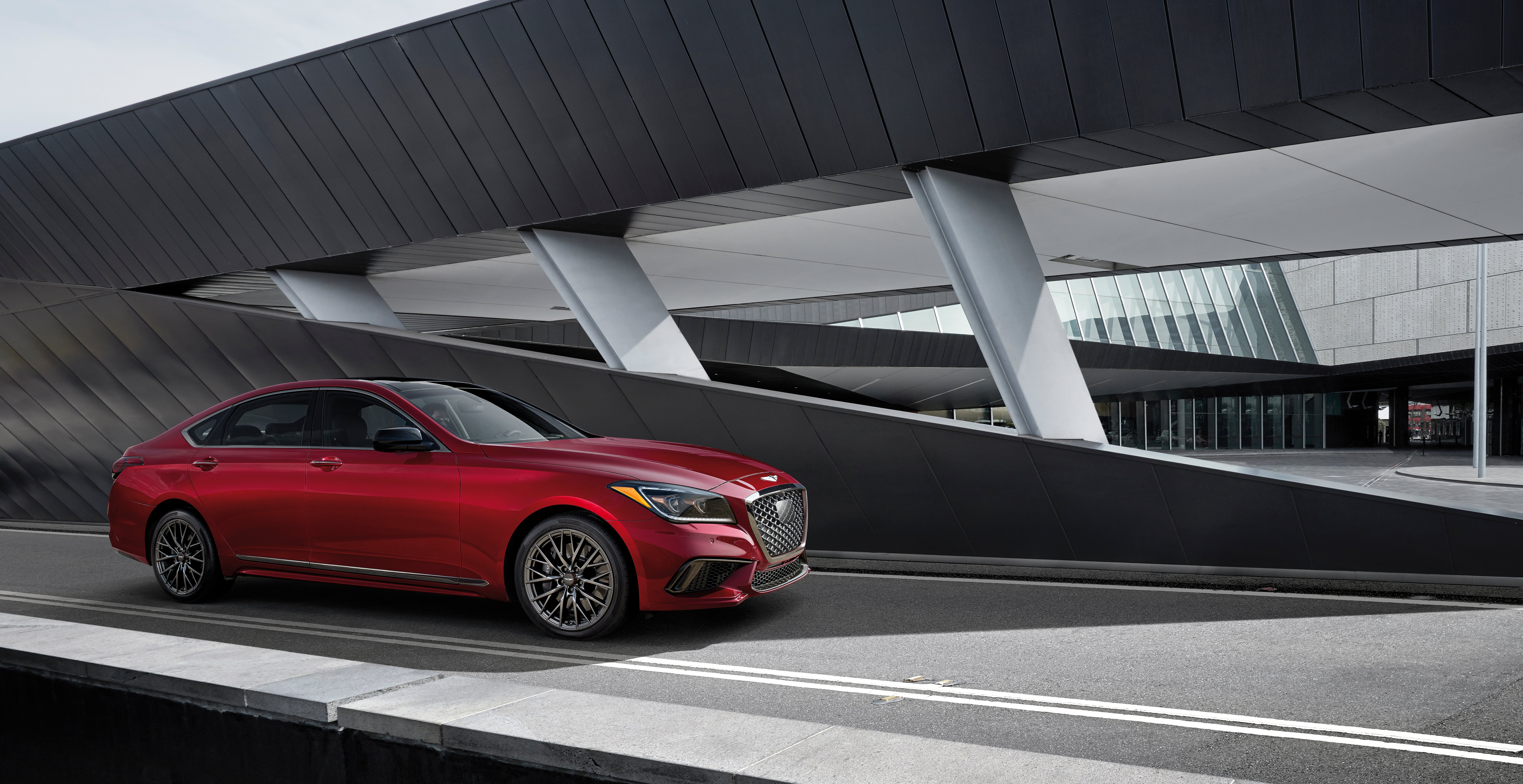 Genesis G80 and G90