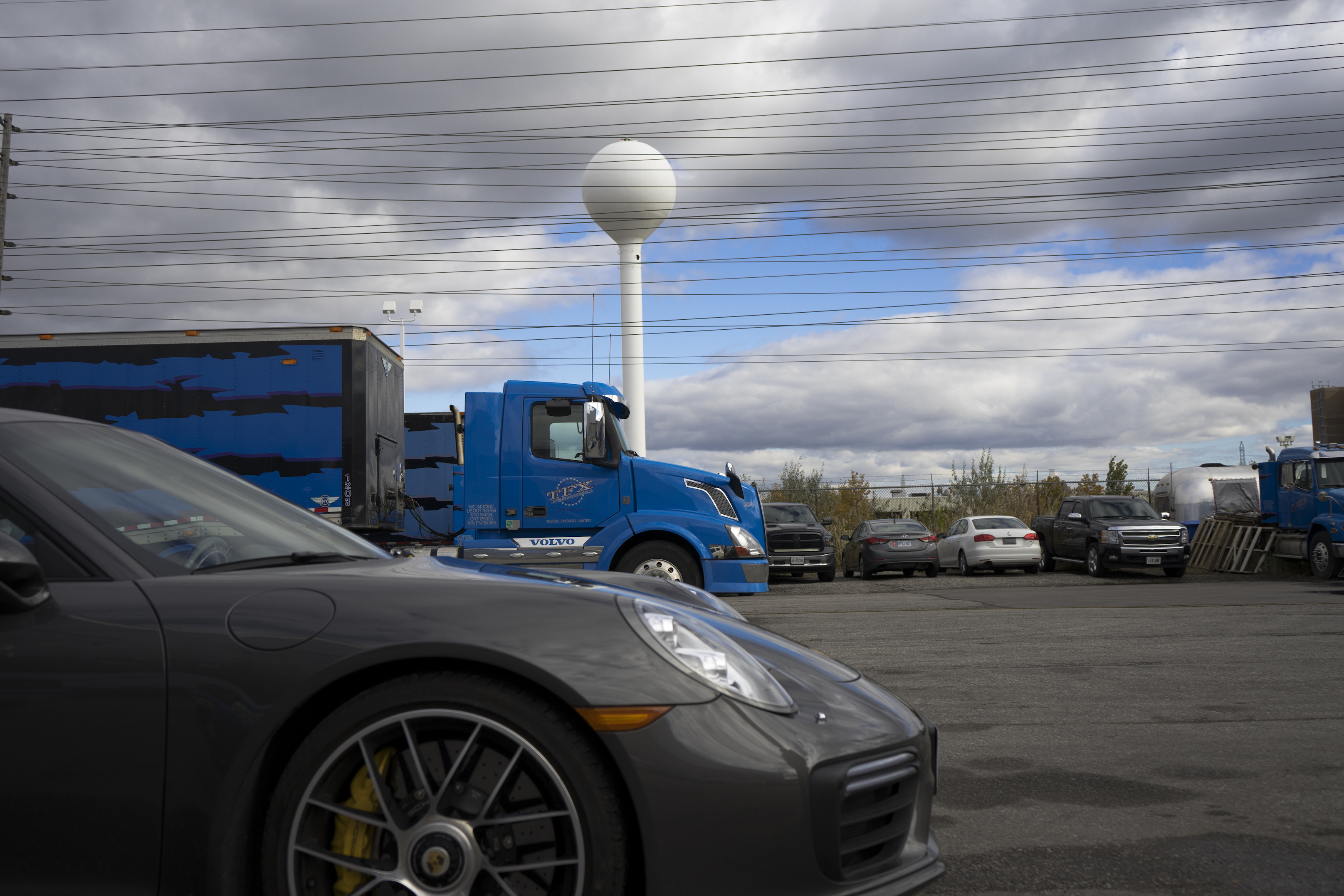 TFX headquarters 911 turbo s snowbird