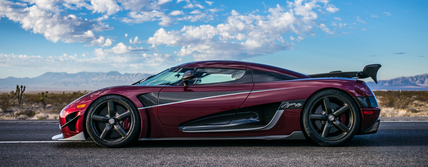 TrackWorthy - Koenigsegg Agera RS five world records in Pahrump, Nevada (1)