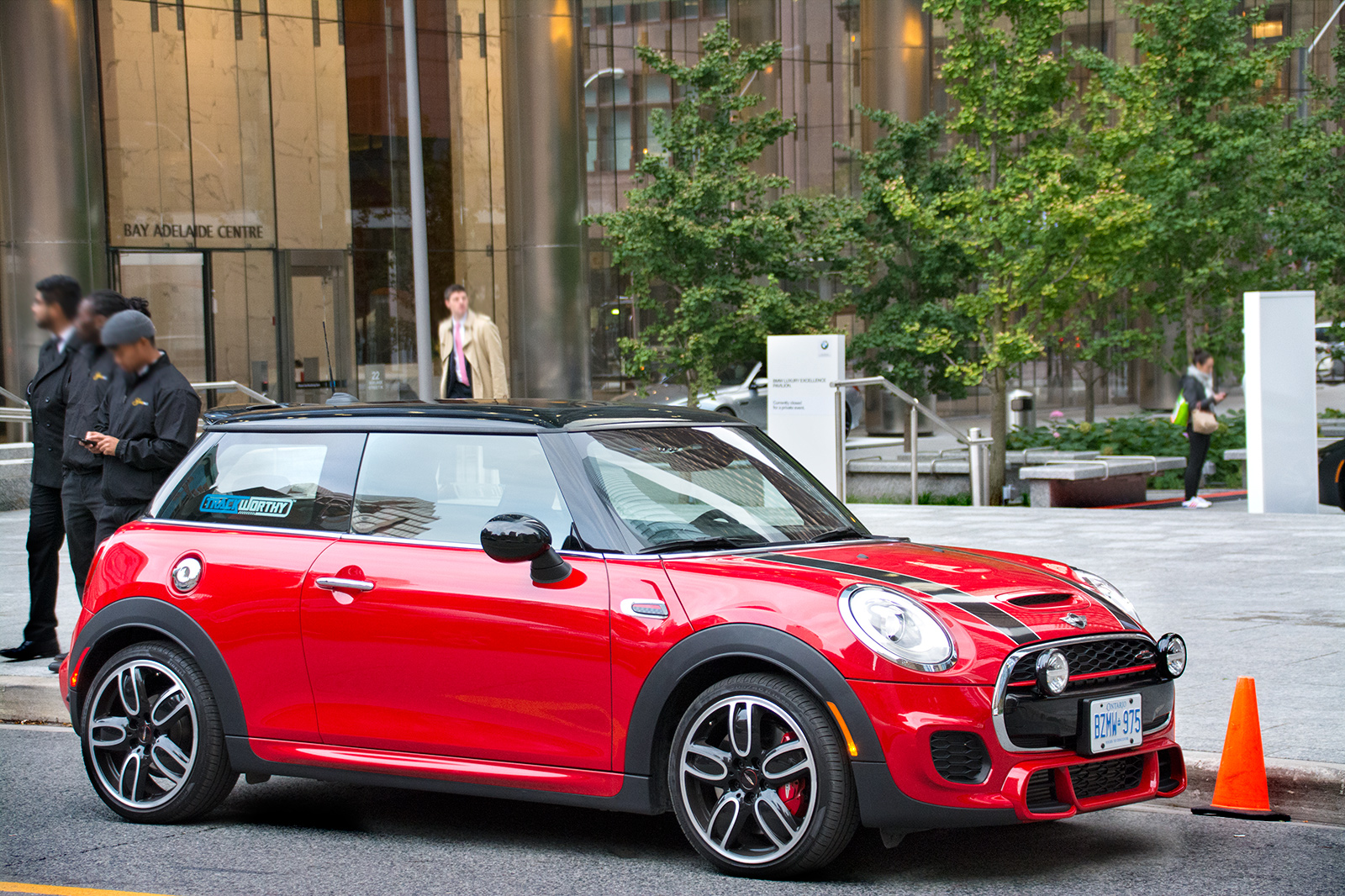 TrackWorthy - 2017 MINI John Cooper Works 3-Door in Chili Red (13)