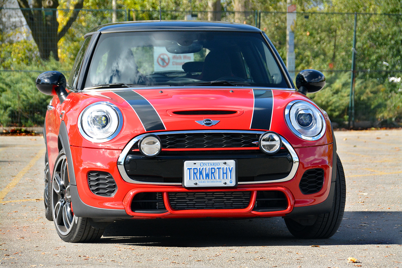 TrackWorthy - 2017 MINI John Cooper Works 3-Door in Chili Red (3)
