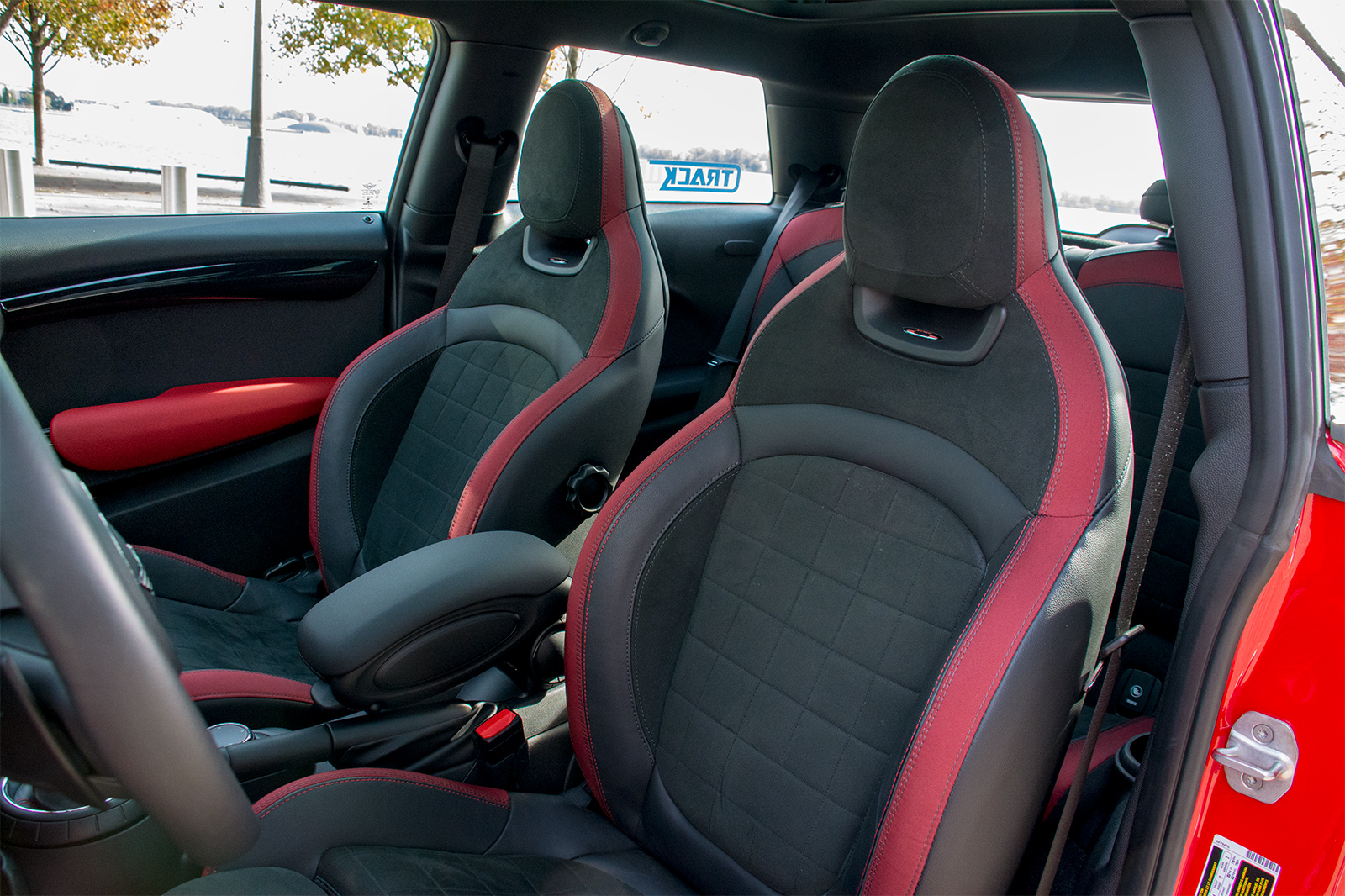 TrackWorthy - 2017 MINI John Cooper Works 3-Door in Chili Red (70)