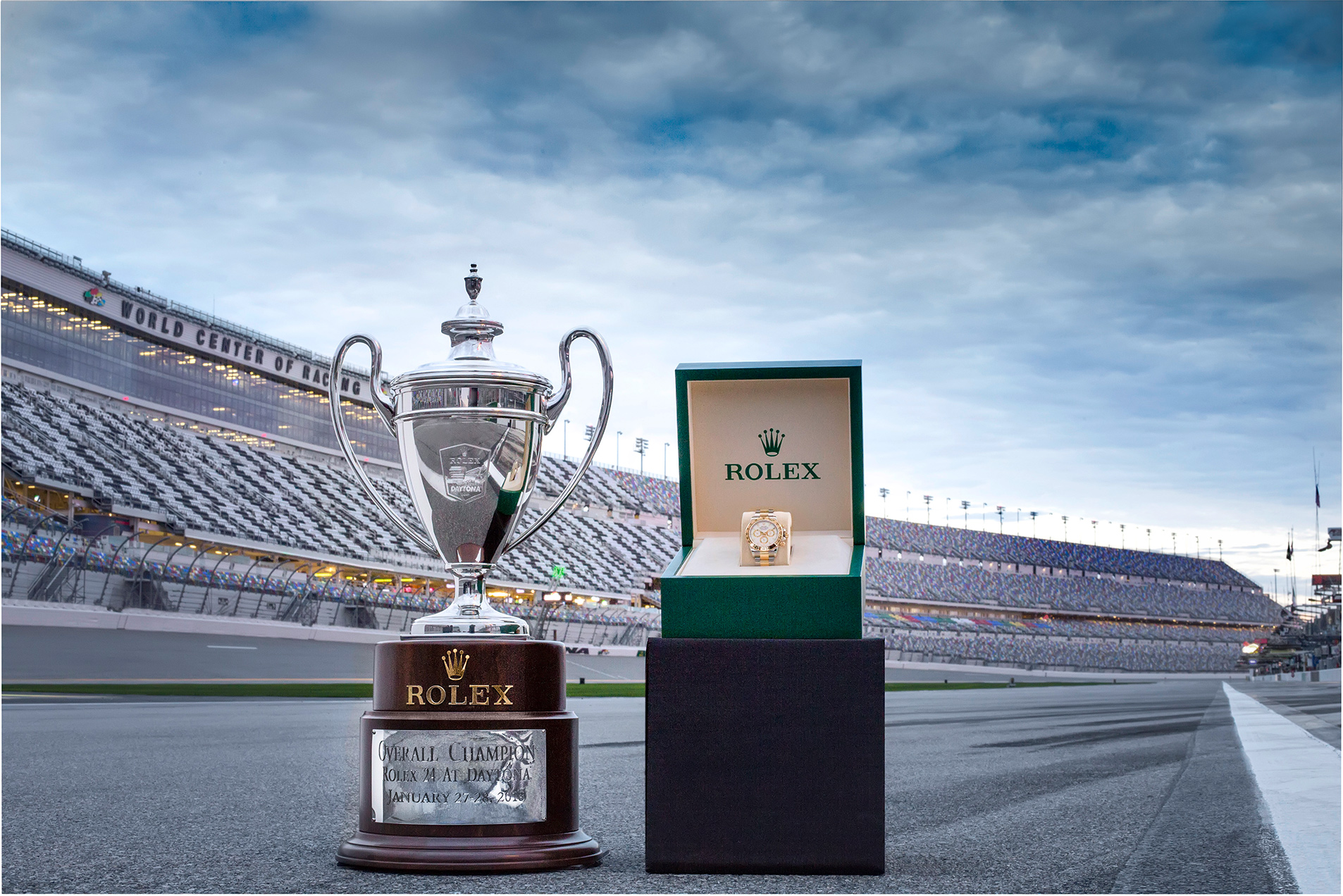 TrackWorthy - Rolex 24 at Daytona - Trophy