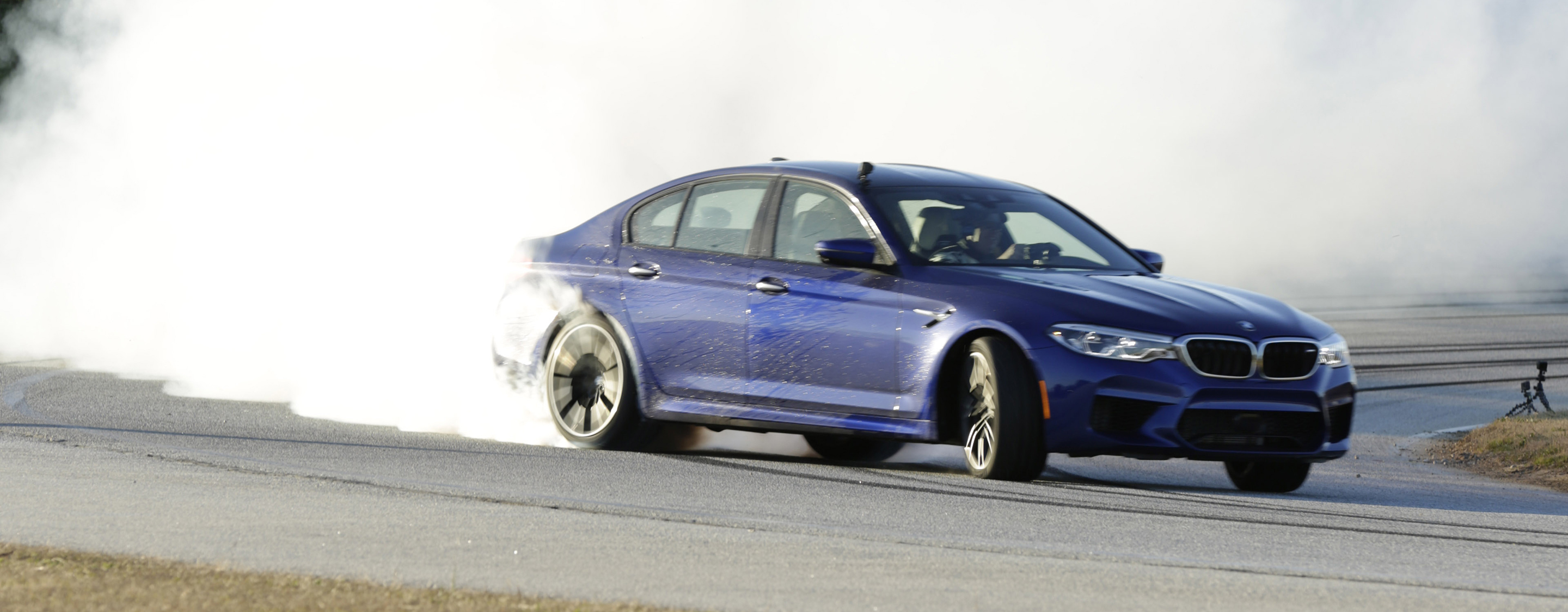 TrackWorthy - Sustained drift of 232.5 Miles in the all-new BMW M5