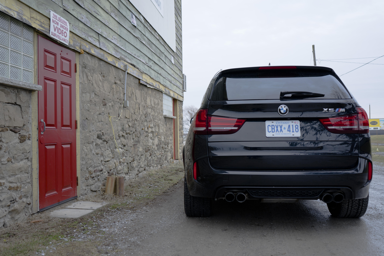 BMW X5 M rear review