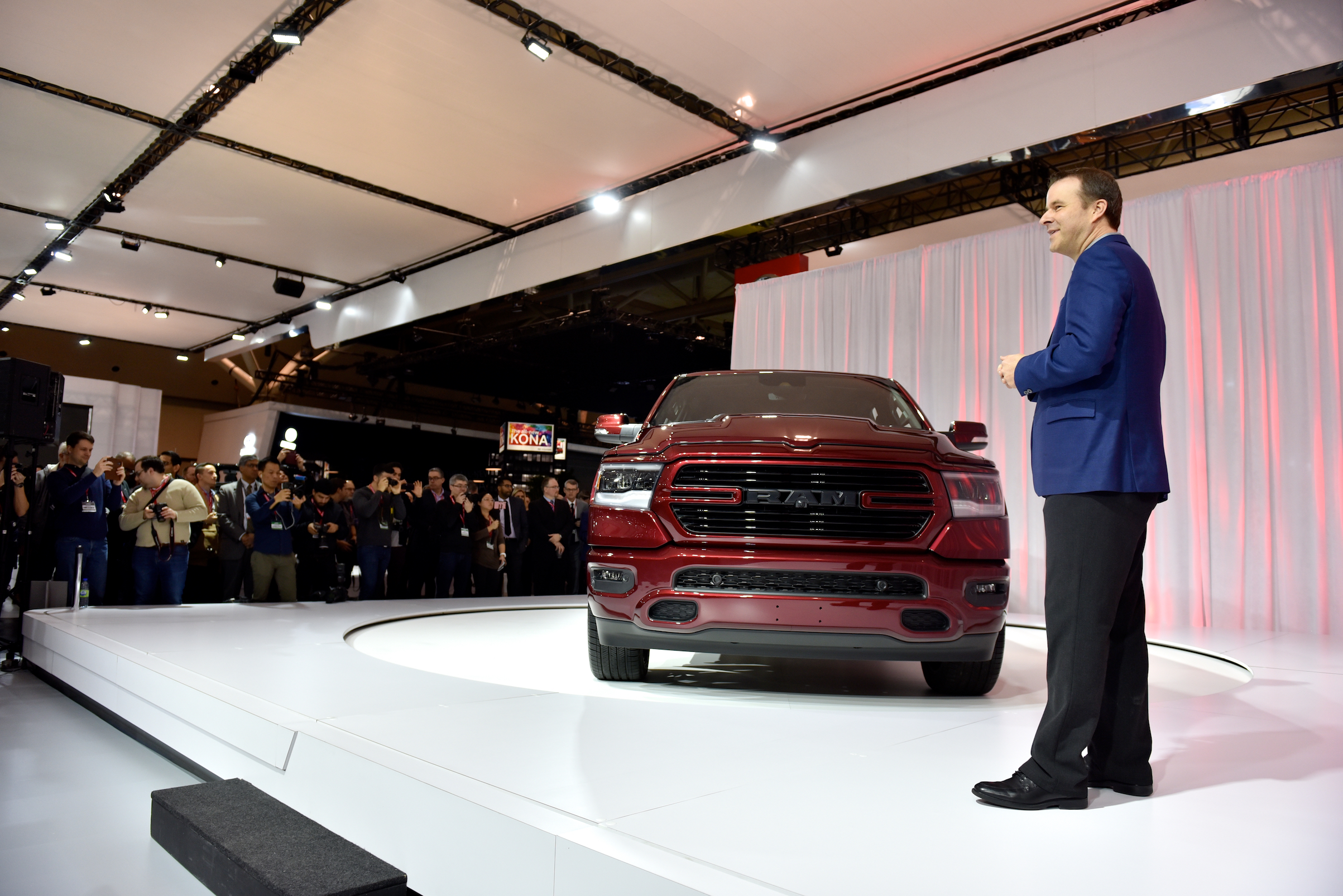 Ram Truck unveiled the all-new and exclusive-to-Canada 2019 Ram 1500 Sport during media day of the Canadian International AutoShow in Toronto.