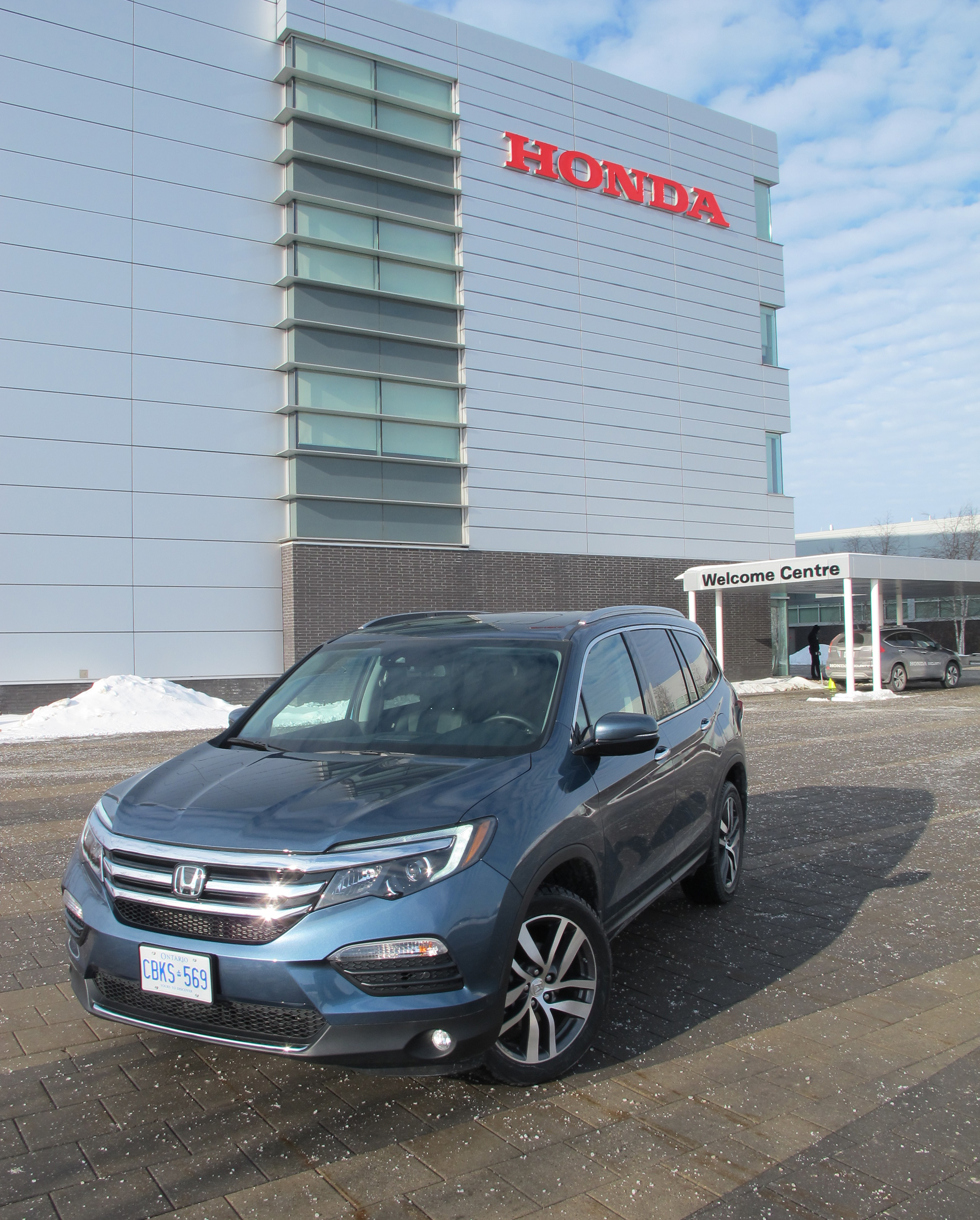 2018 Honda Pilot Touring Review